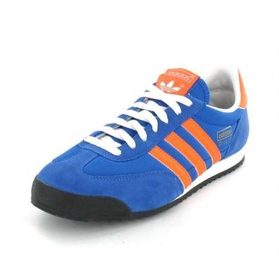 adidas dragon bleu orange