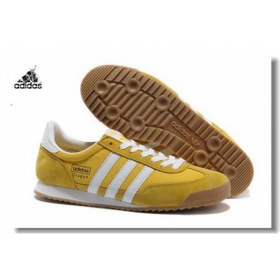 adidas dragon jaune