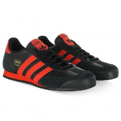 adidas dragon noir et rouge