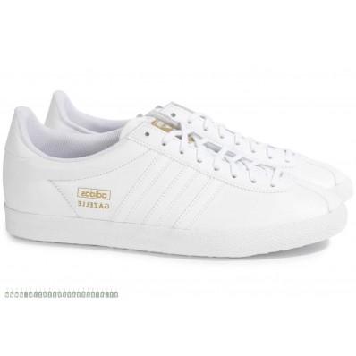 adidas gazelle blanche cuir