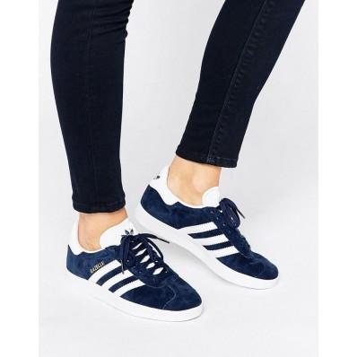 adidas gazelle bleu marine femme