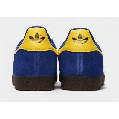 adidas gazelle homme bleu jaune