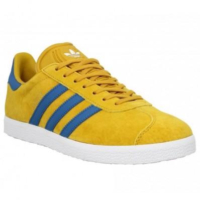 adidas gazelle jaune et rouge