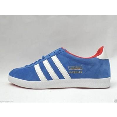 adidas gazelle og bleu et rouge