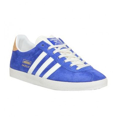 adidas gazelle og cuir bleu