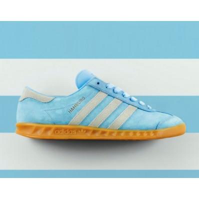 adidas hamburg bleu clair