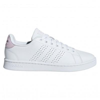 adidas neo blanche et rose