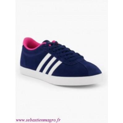 adidas neo femme bleu et rose