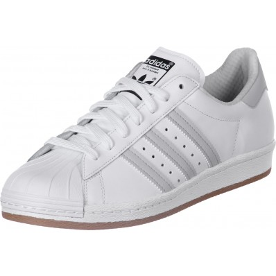 adidas superstar grises con blanco