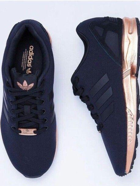 basket adidas zx flux noir et rose gold,basket adidas zx flux noir ...
