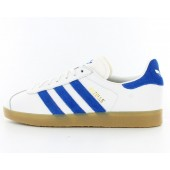 adidas gazelle blanc bleu