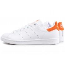 adidas stan smith orange homme