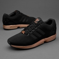 adidas zx flux noir bronze